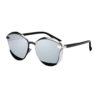 BANNED 1976 ultravagány tükörlencsés női luxus napszemüveg, polarizált