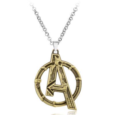 Avengers (Bosszúállók) medál nyaklánccal, bronz