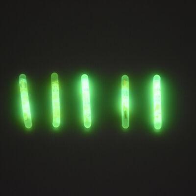 Zöld fényrúd horgászáshoz, 5 db