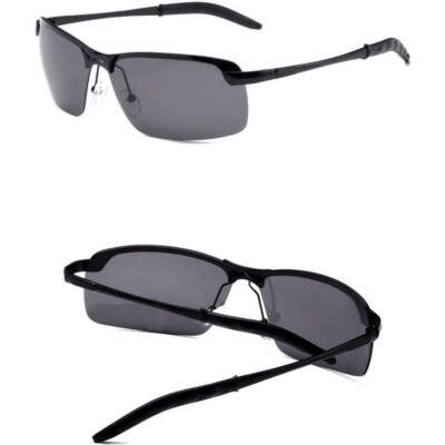 Maria King Polarizált, trendi férfi napszemüveg, fekete