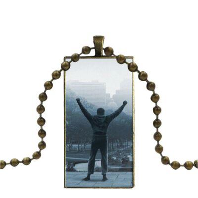'Rocky' medál bronz színű nyaklánccal