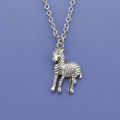Zebrás nyaklánc