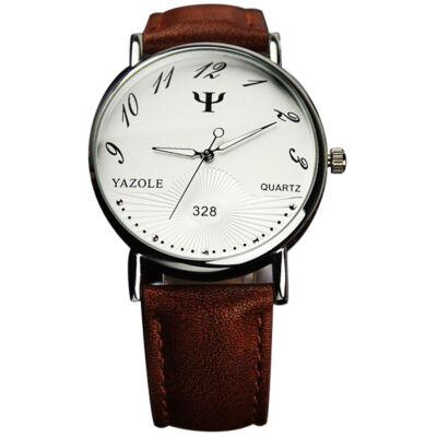 Yazole dőlt számú elegáns óra barna szíjjal - Férfi órák - WebMall ... 998943301b