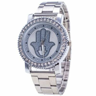 Fatima keze köves fém színű óra - WebMall Webáruház · Vásárolj ... ae46dd1935