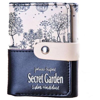 045d2242353e Secret Garden, fekete-bézs pénztárca - Női pénztárcák - WebMall ...