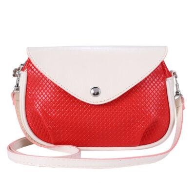 Piros-krém mini válltáska - Női táskák - WebMall Webáruház ... 9c228a7e70