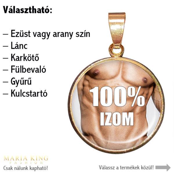 100% izom-medál-lánccal-vagy-választható-karkötőre-fülbevalóra-kulcstartóra-medál-lánccal-vagy-választható-karkötőre-fülbevalóra-kulcstartóra
