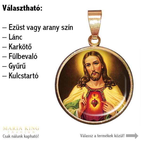 Jesus-Loves-You-medál-lánccal-vagy-választható-karkötőre-fülbevalóra-kulcstartóra-medál-lánccal-vagy-választható-karkötőre-fülbevalóra-kulcstartóra