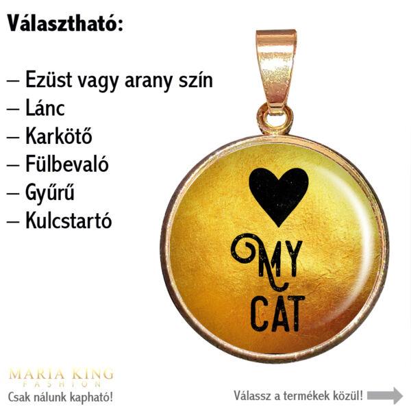 Love my cat-medál-lánccal-vagy-választható-karkötőre-fülbevalóra-kulcstartóra-medál-lánccal-vagy-választható-karkötőre-fülbevalóra-kulcstartóra