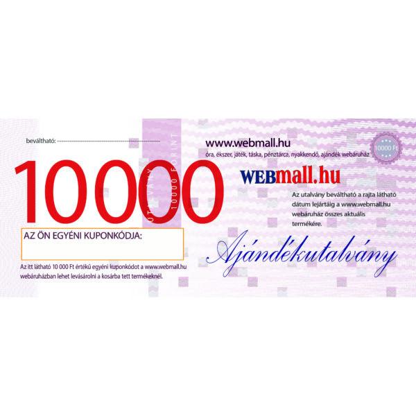 Vásárlási utalvány, 10 000 Ft-os