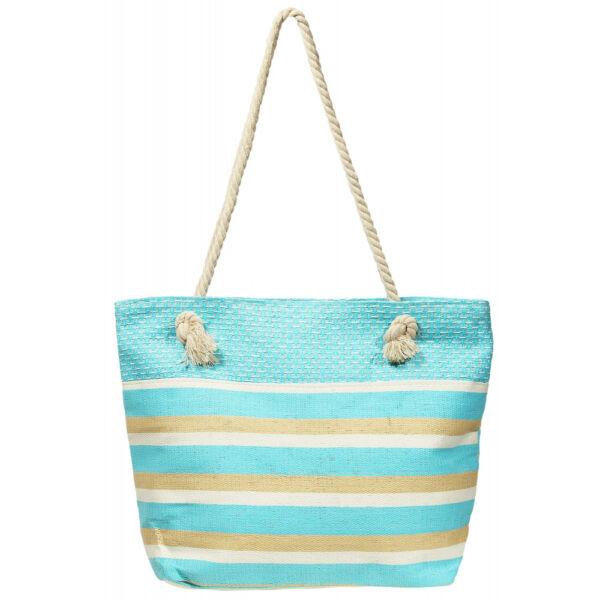 Lady kék csíkos nyári táska