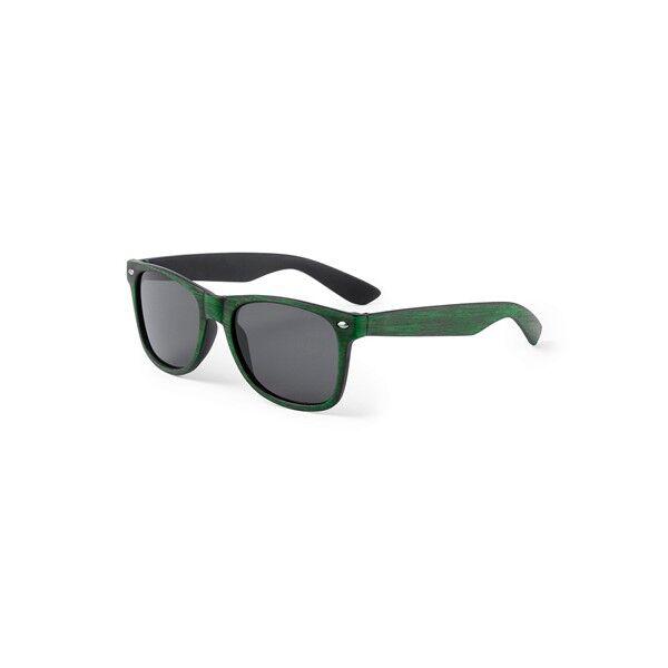 Famintás klasszikus fazonú uniszex napszemüveg (zöld), uv 400