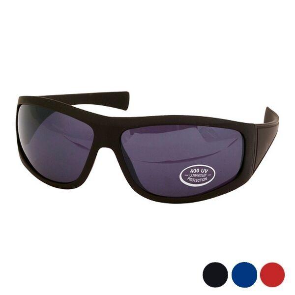 Sportos retro fazonú uniszex napszemüveg (fekete), UV 400