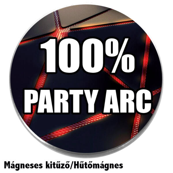 100% party arc-medál-lánccal-vagy-választható-karkötőre-fülbevalóra-medál-lánccal-vagy-választható-karkötőre-fülbevalóra