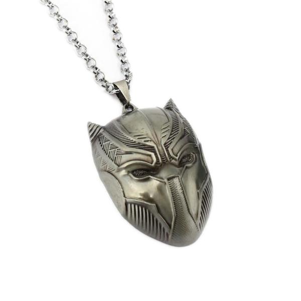 Álarcos medál nyaklánccal, ezüst