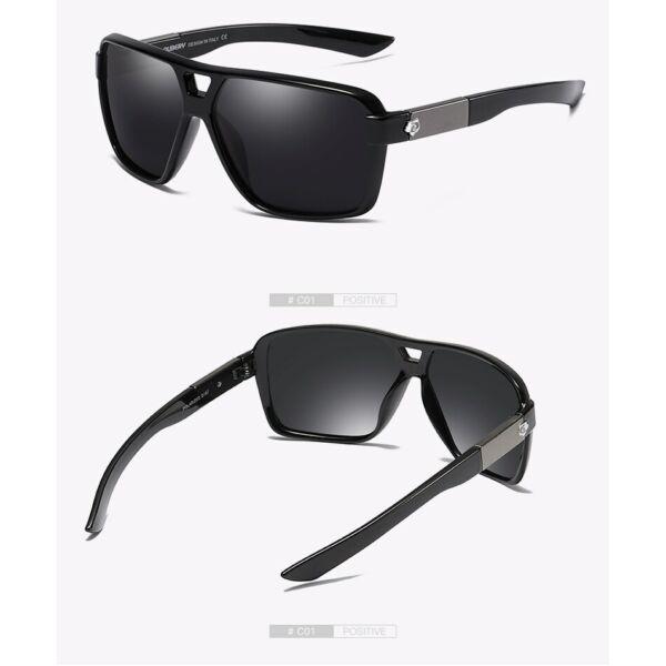 Dubery polarizált retro keretes férfi napszemüveg