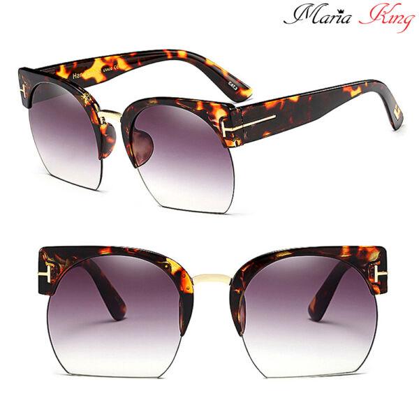 félkeretes dizájner napszemüveg