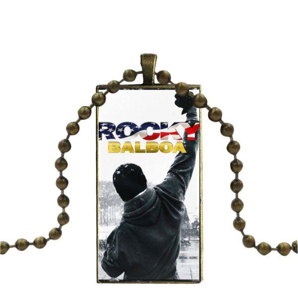 'Rocky' medál bronz színű nyaklánccal 2.