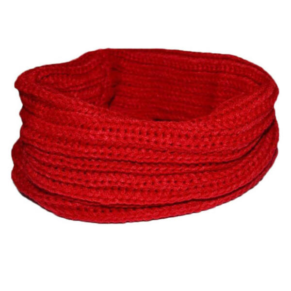 Pirosas bordó puha kötött csősál