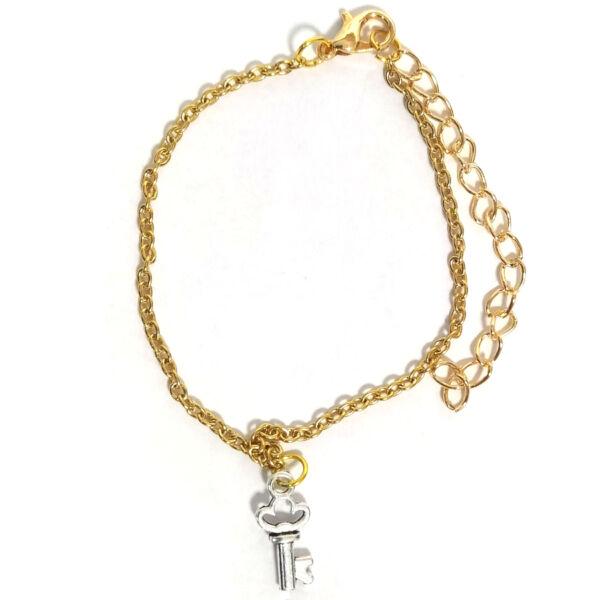 Ezüstkulcs -karkötő-medál-választható-láncra-vagy-karkötőre
