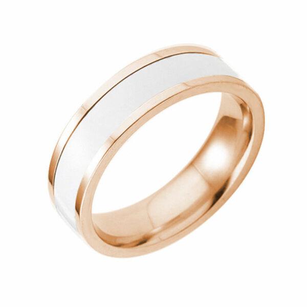 Nemesacél és kerámia gyűrű, több méretben