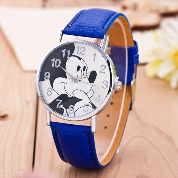 Mickey egér női óra, sötétkék