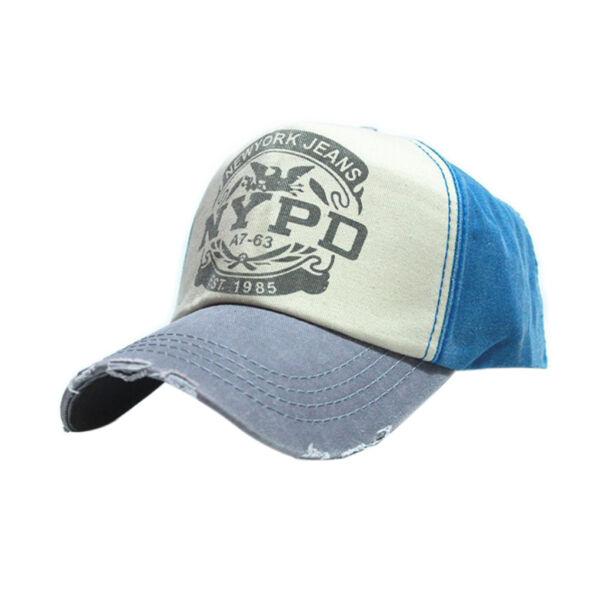 Trendi vászon baseball sapka, kék, NYPD New York Jeans