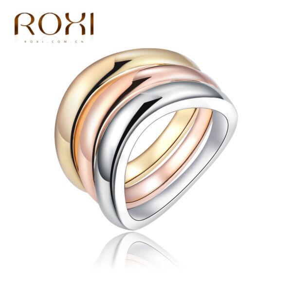ROXI 3 részes 3 színű gyűrű, több méretben