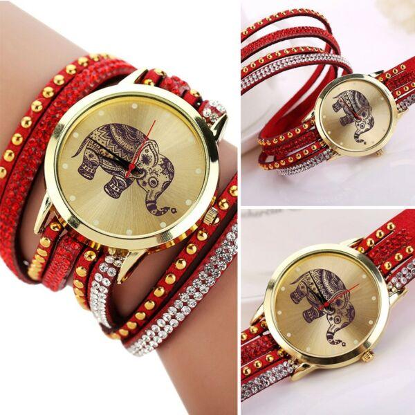 Elefántos női óra