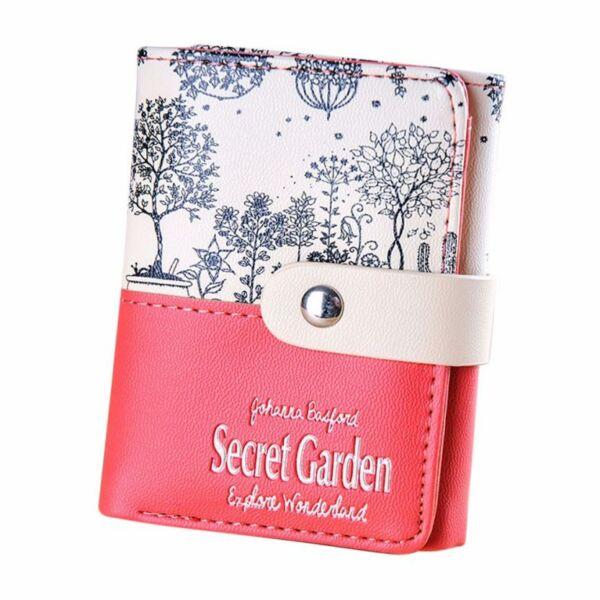 Secret Garden, piros-bézs pénztárca