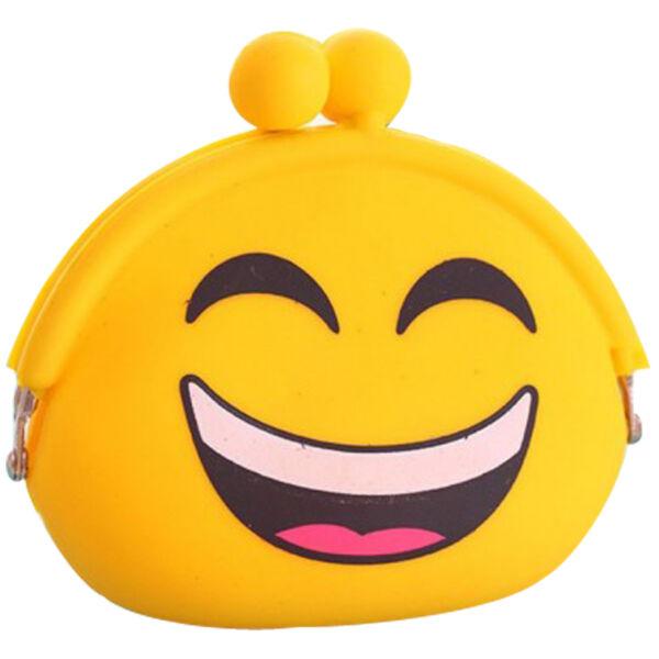 Smiley sárga pénztárca