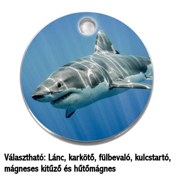 cápa-medál-lánccal-vagy-választható-karkötőre-fülbevalóra-kulcstartóra